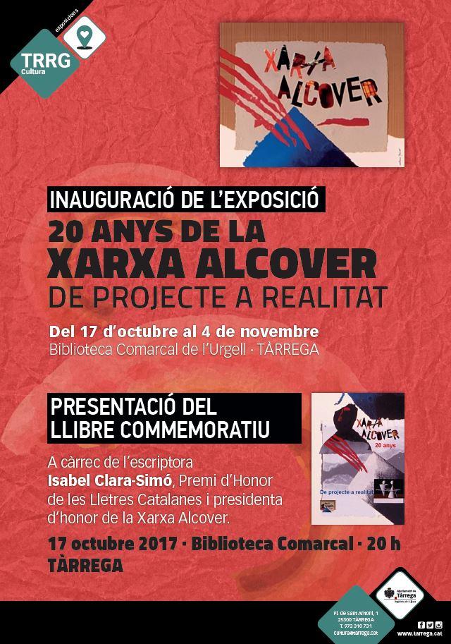 cartell-20-anys-xarxa-alcover