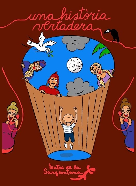 Cartel una historia vertadera iguana teatre