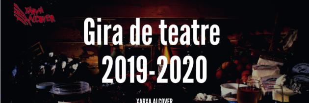 Descobreix la gira de teatre de la Xarxa Alcover 2019-20