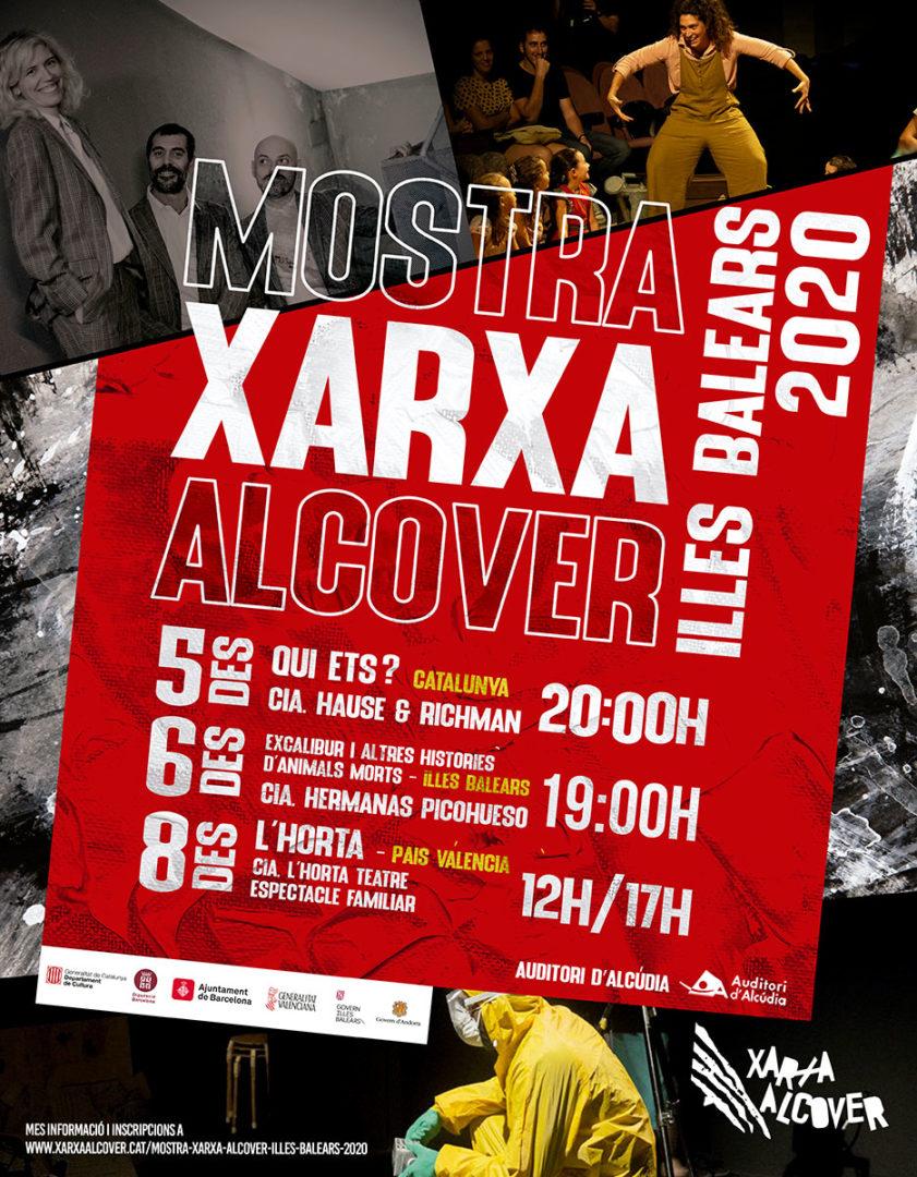 Mostra Xarxa Alcover teatre Illes Balears 2020
